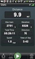 Screenshot of Backpacker GPS Trails Pro