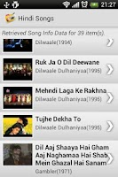 Screenshot of Hindi Songs Music & Video