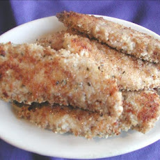 Crispy Parmesan Chicken Strips