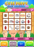 Screenshot of Cute Puppy Slot Machine HD