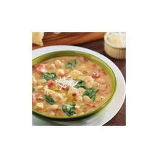 Creamy Tuscan Bean and Chicken Soup