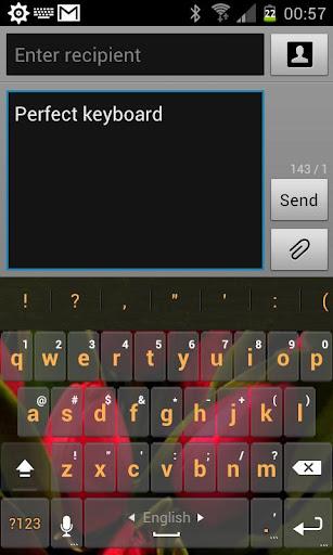 Tulip Keyboard Skin