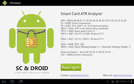 Smart Card ATR Analyzer