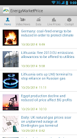 Screenshot of Energy Market Price