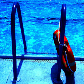 by Vesna S. Disić - Artistic Objects Other Objects ( water, detail, sharp, art, sport, close up, red, clean, blue, serbia, shadow, artistic, summer, inspired )