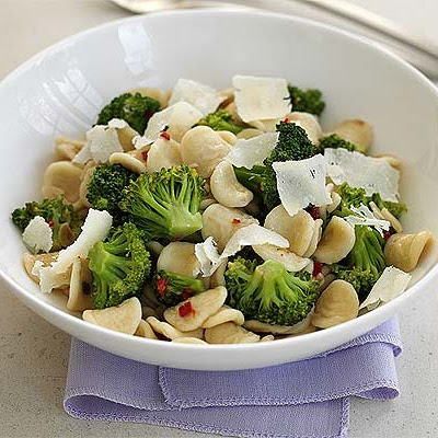 Pasta Shells With Broccoli & Anchovies