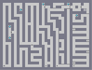 Thumbnail of the map 'One-way Maze'