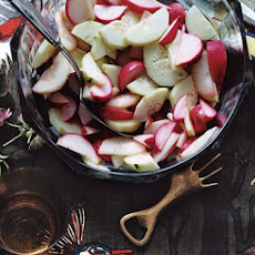 Sweet Cucumber and Radish Salad