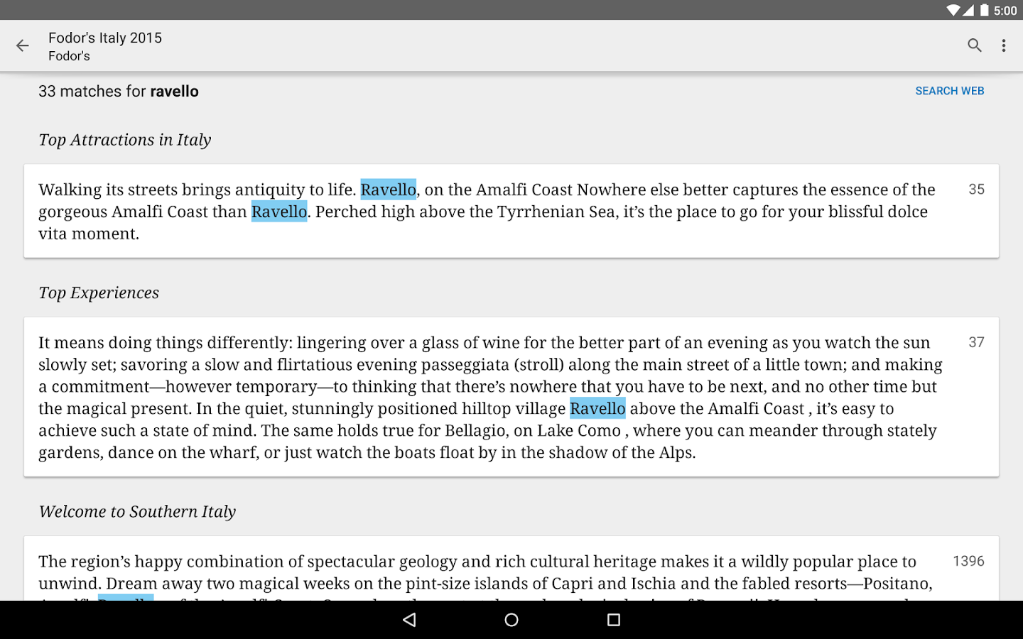Google Play Books Screenshot 13