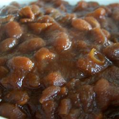Homemade Slow Cooker Baked Beans