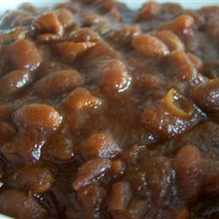 Homemade Slow Cooker Baked Beans Recipe | Yummly