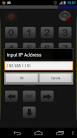 Screenshot of Universal Remote