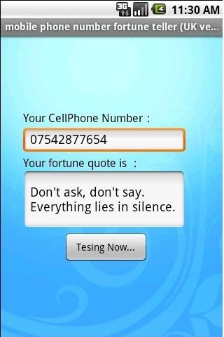 mobile number fortune te
