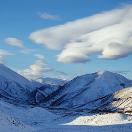 Snowy Mounrains by Winkie Chau - Landscapes Mountains & Hills ( mountains, winter, snowy scene,  )