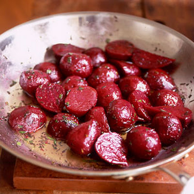 Boiled Beets with Tarragon Butter
