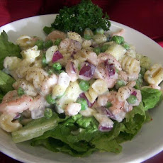 Seashell Shrimp Salad