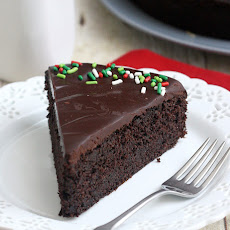Easy Glazed Chocolate Cake