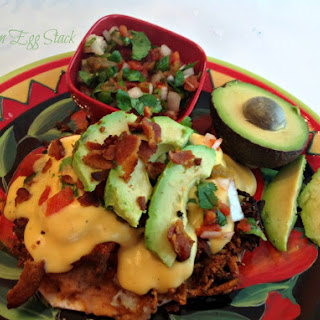 Mexican Egg Stack