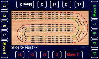Screenshot of Cribbage Board