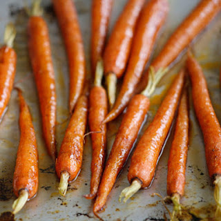 Bourbon Glazed Carrots