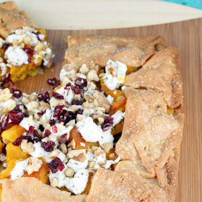 Butternut Squash and Goat Cheese Galette