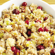Sausage, Pear, Pecan And Cranberry Stuffing