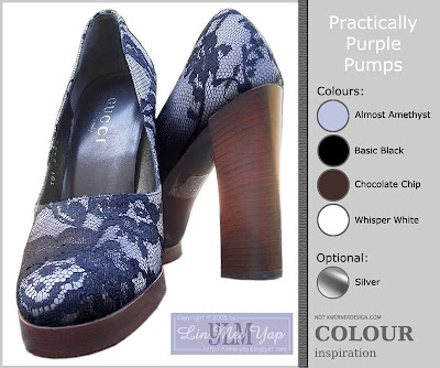 Practically Purple Pumps Colour Challenge