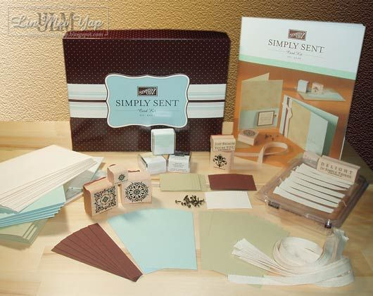 Stampin' Up! Simple Delights Kit Contents