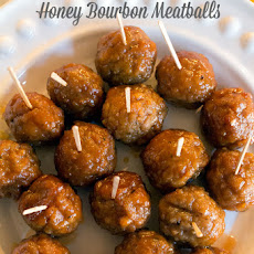 Slow Cooker Honey Bourbon Meatballs