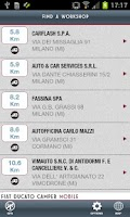 Screenshot of Fiat Ducato Camper Mobile