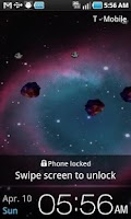 Screenshot of Helix Nebula Live Wallpaper
