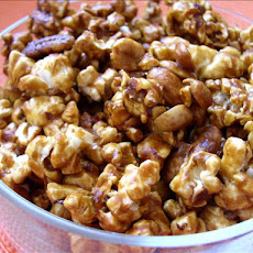 Nutty Baked Caramel Corn