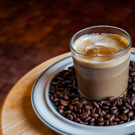 Glass & Bean by Chris Hartley - Food & Drink Alcohol & Drinks ( #hot, #barista, #beans, #kitchen, #tasty, #coffee, #drink )