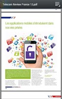 Screenshot of Telecom Review en Français
