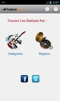 Screenshot of France Radio