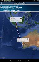 Screenshot of Jakarta Airport+Flight Tracker