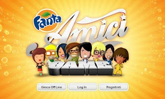 Screenshot of Fanta Amici in Break
