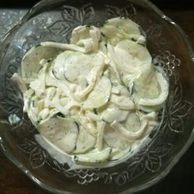 My Grandma's Cool Cucumber Salad