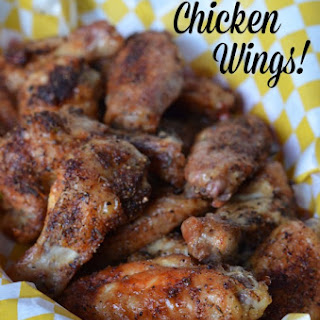 The Best Oven Baked Chicken Wings!