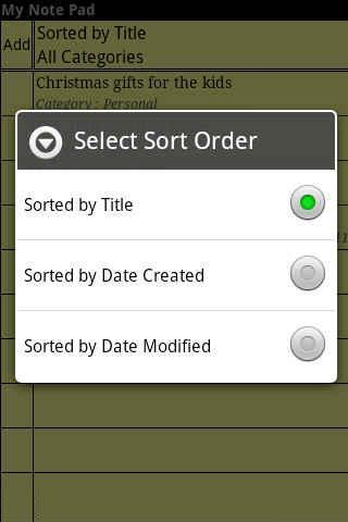 玩生產應用App My Note Pad免費 APP試玩