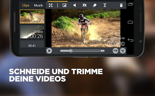 Movie Edit Touch - Video App Screenshot