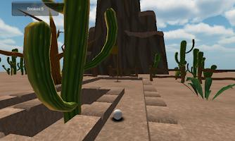 Screenshot of Mini golf games Cartoon Desert