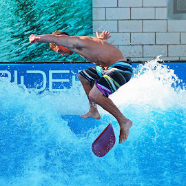 WATER TRICKS by Fred Regalado - Sports & Fitness Surfing