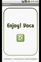 Screenshot of EnjoyVoca Lite 영단어 voca 토익 수능