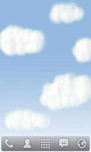 雲livewallpaperを描画する