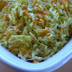 Memphis Mustard Coleslaw Tangy and Hot!