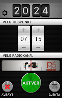 Screenshot of P4 Klokkeradio