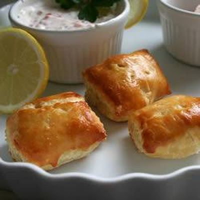 Salmon And Feta Parcels