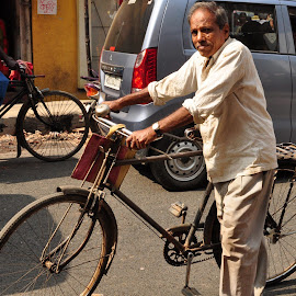 by Subrata Chatterjee - Transportation Bicycles