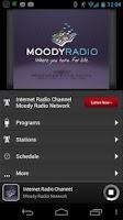 Screenshot of Moody Radio